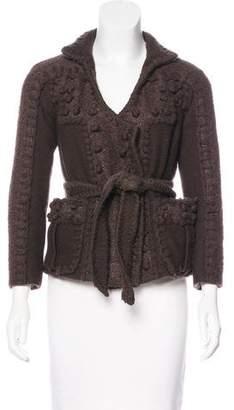 Saint Laurent Wool Knit Jacket