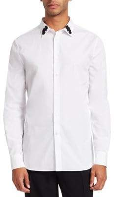 Alexander McQueen Evening Floral Dress Shirt