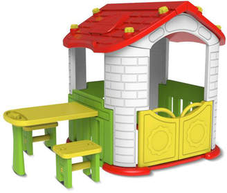 Outdoor Kids Wombat Playhouse & Picnic Table Set