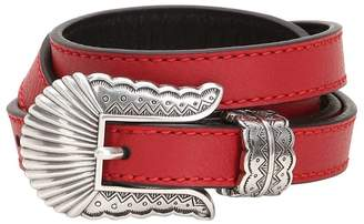 Kate Cate 19mm Thin Kim Nappa Leather Belt