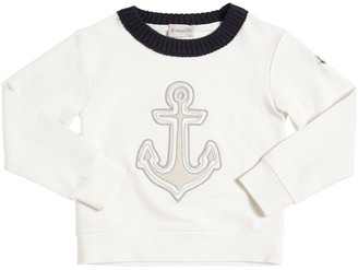 Moncler Anchor Patch Cotton Sweatshirt
