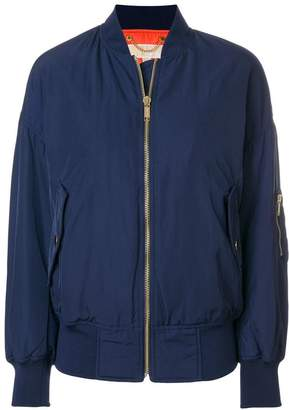 MICHAEL Michael Kors dropped shoulder bomber jacket