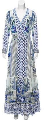 Camilla Silk Maxi Dress w/ Tags