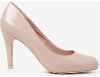 Dorothy Perkins Womens Nude Patent 'Dallas' Court Shoes