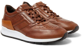 Tod's Sportivo Leather Sneakers - Men - Brown