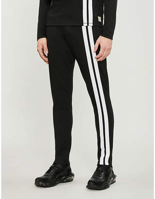 PREVU Arthur Avenue contrast-striped jersey jogging bottoms