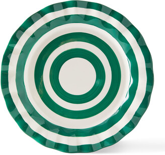 Coton Colors Spot On Ruffle Dinner Plates, Set of 4