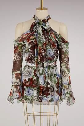 Erdem Uriel sleeveless blouse