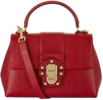 Dolce & Gabbana Small Lucia Top Handle Bag