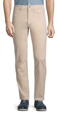 Brooks Brothers Red Fleece Slim Fit Garment-Dyed Five-Pocket Corduroy Pants