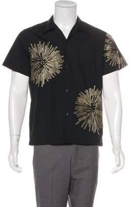 SASQUATCHfabrix. Woven Abstract Print Shirt