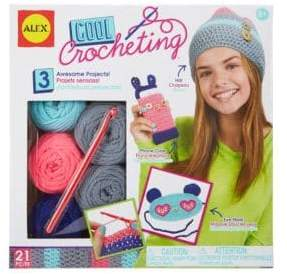Alex Cool Crochet Kit
