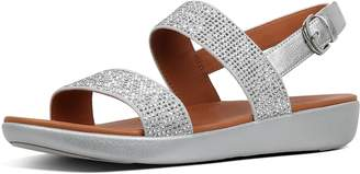 FitFlop Barra Crystalled Back-Strap Sandals