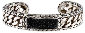 John Hardy Black Sapphire Cuff