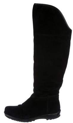 La Canadienne Suede Over-The-Knee Boots