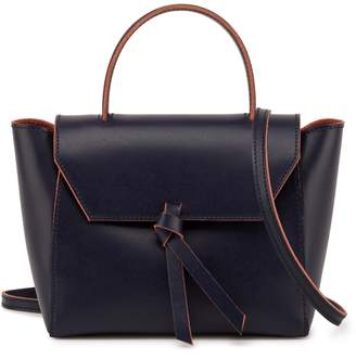 Alexandra de Curtis JK Mini Satchel Navy