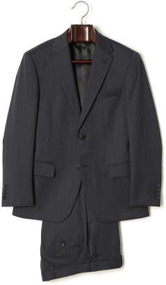 HIROKO KOSHINO homme collection ミルドストライプ スーツ ネイビー a4