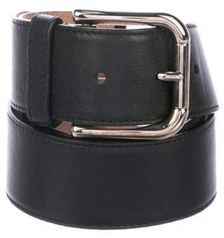 Dolce & Gabbana Leather Embellished Belt