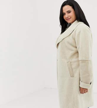 New Look Curve oversized coat