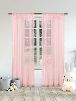 BA&SH lala + bash Dollie Pole Top Window Panel Curtains (Set of 2)