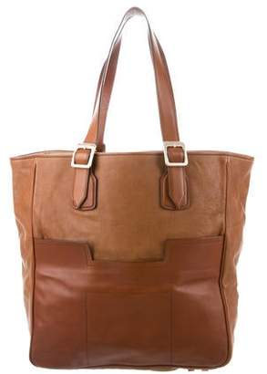 Hunter Brown Leather Tote