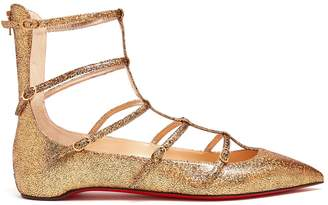 Christian Louboutin Toerless Muse leather flats