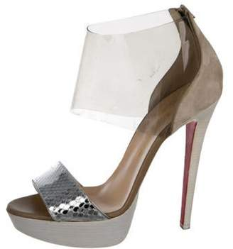 deceeab7e76 Christian Louboutin Vamp Strap Sandals For Women - ShopStyle Canada