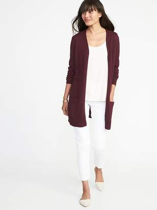 Old Navy Long-Line Open-Front Sweater for Women