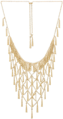 Kendra Scott Georgina Necklace in Metallic Gold. $160 thestylecure.com
