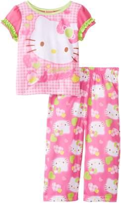 AME Sleepwear Little Girls' Hello Kitty Pajama Set