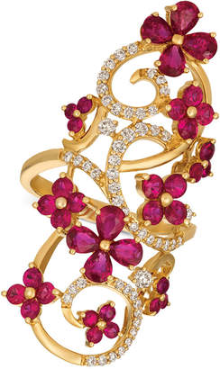 LeVian Le Vian Certified Passion RubyTM (2-9/10 ct. t.w.) & Diamond (1/2 ct. t.w.) Ring in 14k Gold