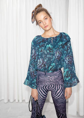 And other stories House of Hackney Blouse