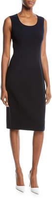 Michael Kors Sleeveless Knit Sheath Dress