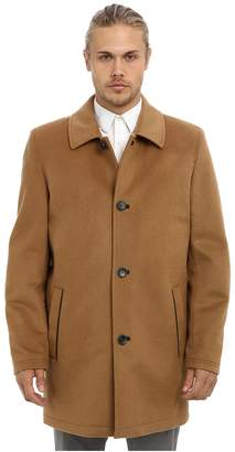 Vince Camuto Storm System Wool Melton Carcoat Men's Coat