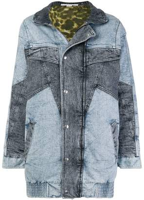 Stella McCartney long denim jacket