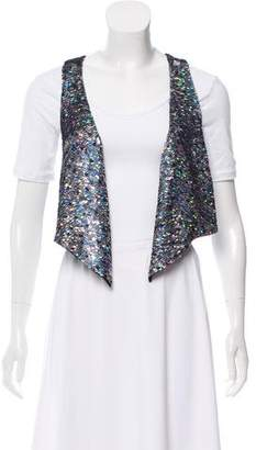 Etoile Isabel Marant Iridescent Sequined Vest