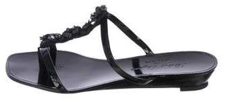 Robert Clergerie Patent Leather Sandals