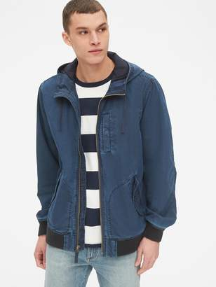 Gap Hooded Bomber Jacket