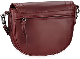 Longchamp Alezane Leather Crossbody Bag, Garnet