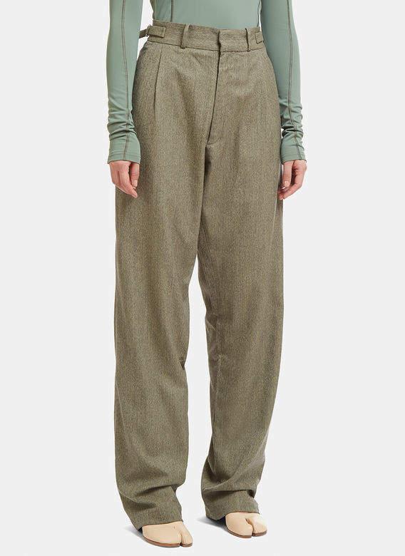 GmbH Tarek Classic Pants in Green