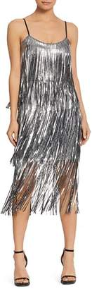 Dress the Population Roxy Sequined Flapper Dress