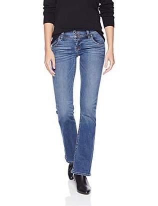 Hudson Jeans Women's Signature Petite Midrise Bootcut Flap Pocket Jean