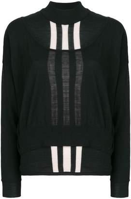 Y-3 layered jumper