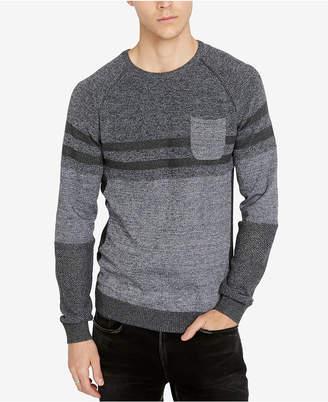 Buffalo David Bitton Men's Classic Fit Heathered Watextur Sweater