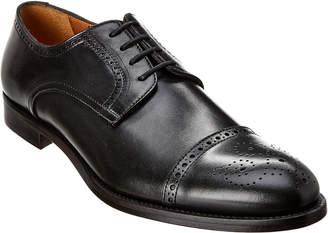 Antonio Maurizi Cap Toe Leather Oxford