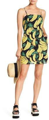 Lucca Couture Banana Print Mini Dress