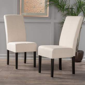 Andover Mills Merrin T-Stitch Upholstered Dining Chair