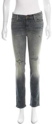 J Brand Distress-Accented Skinny Jeans w/ Tags