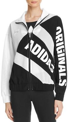 adidas Originals Mesh Zip Track Jacket $80 thestylecure.com