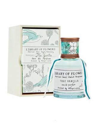 Library of Flowers True Vanilla Eau De Parfum, 1.7 oz./ 50 mL